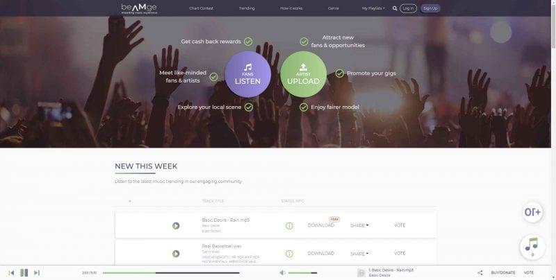 Social Music Platform
